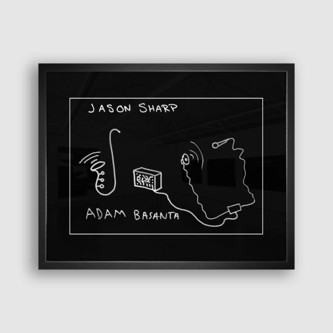 Autoportrait de Adam Basanta et Jason Sharp, Collection Trombinoscope © adscite, Alexandre Fisselier et Mathilde François