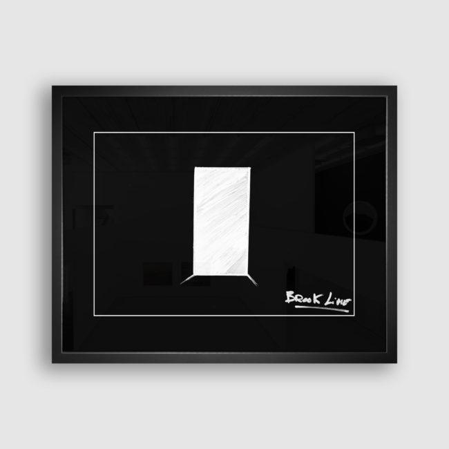 Autoportrait de Brook Line, Collection Trombinoscope © adscite, Alexandre Fisselier et Mathilde François