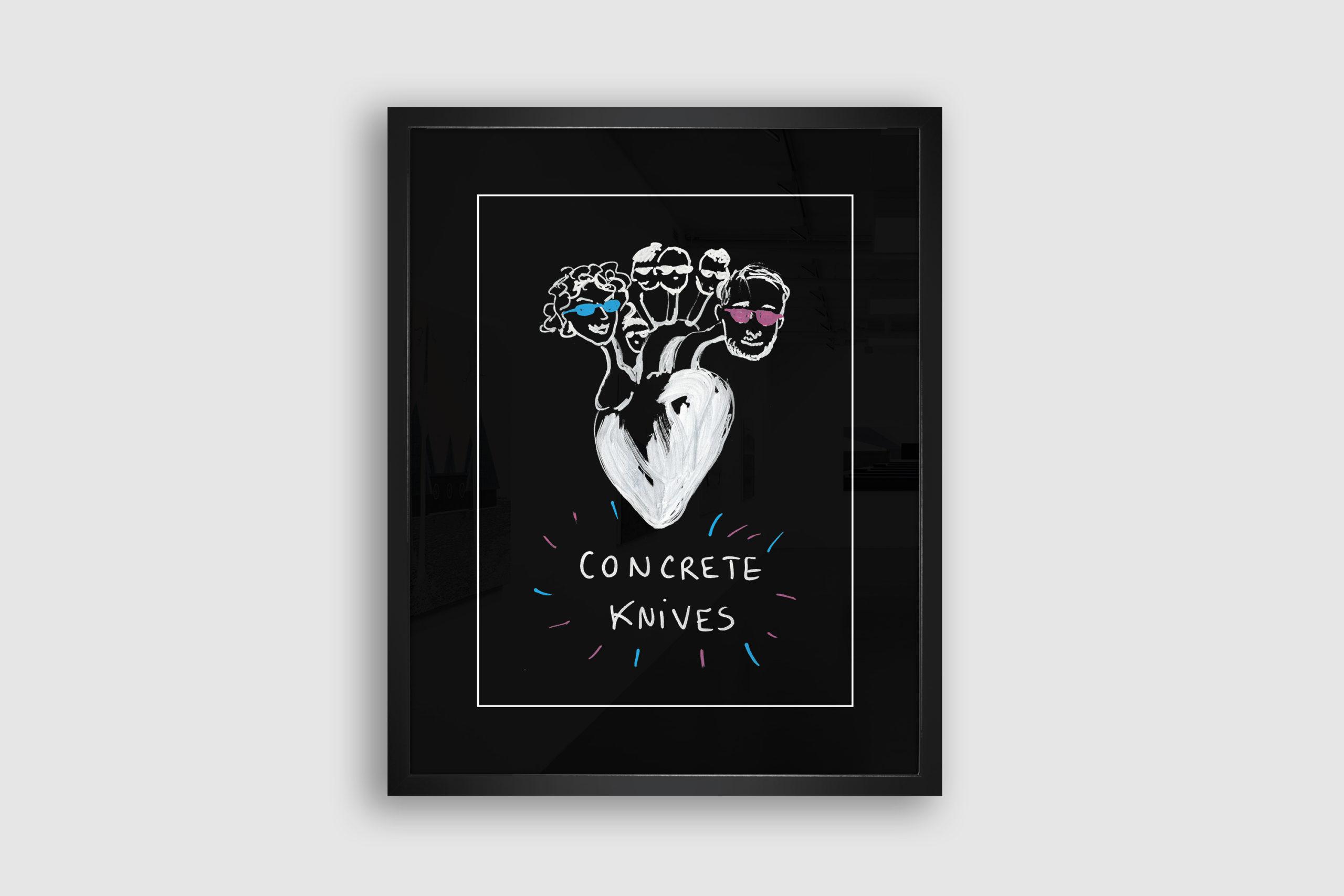 Concrete Knives