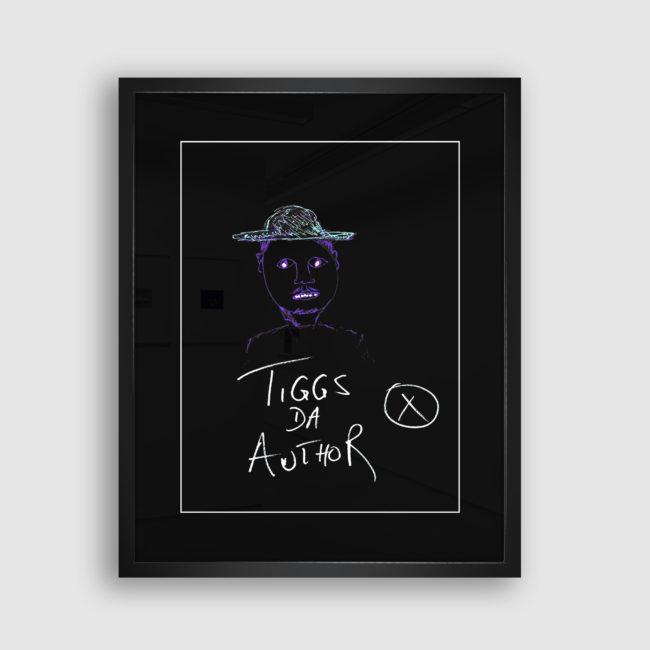 Autoportrait de Tiggs Da Author, Collection Trombinoscope © adscite, Alexandre Fisselier et Mathilde François